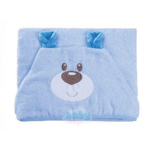 Toalha-com-Capuz-Funny-Ursinho-Azul---Baby-Joy