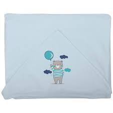 Toalha-de-banho-com-capuz-e-forro-Plush-Azul---Incomfral