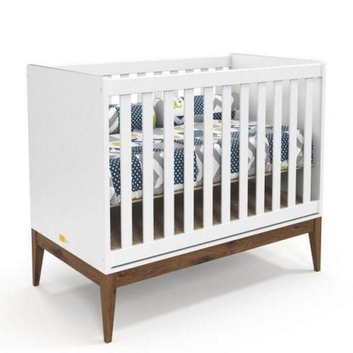 Berço-Nature-Matic-Móveis-Branco-Soft/Eco-Wood