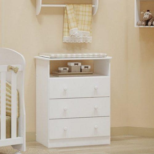Cômoda-de-Bebê-3-Gavetas-Smim-Móveis-Peroba-Branco-